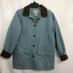L.L. Bean Blue Adirondack Barn Coat            B18